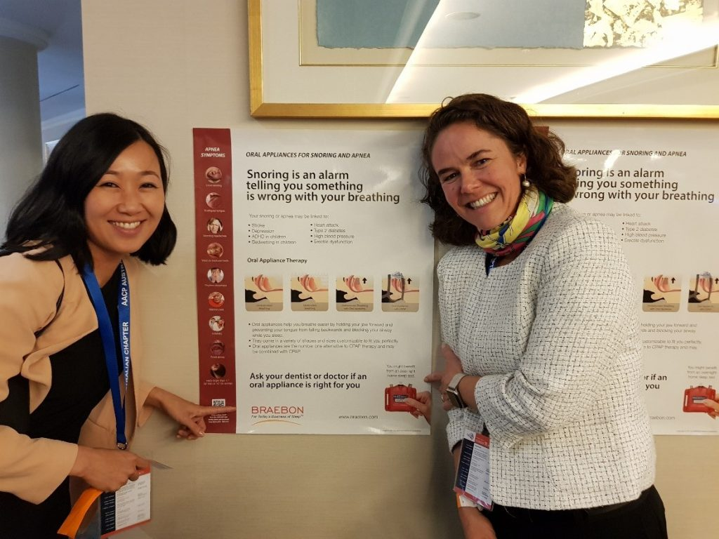 Dr Nelly Huynh, Montreal and Dr Fernanda Almeida, Vancouver